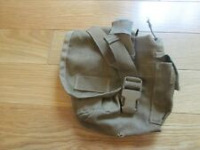 USMC MOLLE II 1 QUART CANTEEN GENERAL PURPOSE POUCH COYOTE BROWN BAE SYSTEMS!