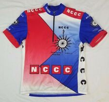 SUGOI Mens Cycling Jersey CORETECH L Canada NCCC North County San Marcos CA