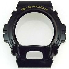Original Casio G Shock Bezel Shell Cover Dw6900 Model Black and Gold Authentic