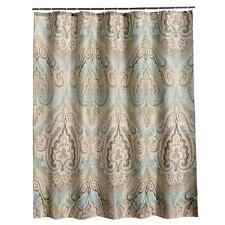 "Classic Paisley Design Fabric Shower Curtain Mildew Resistant Waterproof 72""x72"""