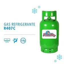 BOMBOLA GAS REFRIGERANTE R407C da 5 KG RICARICA CONDIZIONATORE E CLIMATIZZATORE