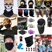 Men Women Outdoor Motorcycle Cycling Anti-dust Mouth Face Mask Outdoor Headband