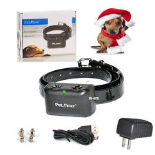 Waterproof Rechargeable Anti No Barking Collar Electric Shock Dog Bark Collar
