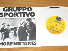 """STEREO 70's COMPACT 33 EP - GRUPPO SPORTIVO - SIRE 6066 - """"MORE MISTAKES"""""""