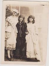 PHOTO ANCIENNE-DEGUISEMENT/COSTUMES pour LE MALADE IMAGINAIRE- ANNEE 1924/