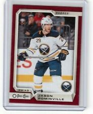 2018-19 O Pee Chee Wrapper Redemption Red Border Jason Pominville Buffalo Sabres