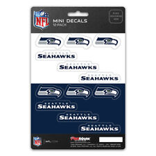New NFL Seattle Seahawks Die-Cut Premium Vinyl Mini Decal / Sticker Pack