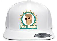 White Ryan Fitzpatrick Miami Dolphins Fitz Magic Snapback Hat