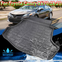 For Toyota Camry XV70 2018 2019 Cargo Liner Boot Tray Trunk Floor Mat Carpet