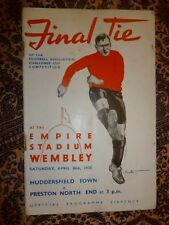1938 FA Cup Final HUDDERSFIELD TOWN v PRESTON NORTH END - 30th April, Original