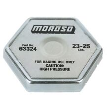 MOROSO RACING RADIATOR CAP 23-25 LB. HIGH PSI 6-SIDED STEEL SPRING RUBBER SEAL