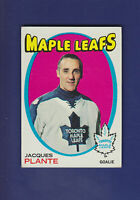 Jacques Plante 1971-72 TOPPS Hockey #10 (EXMT)