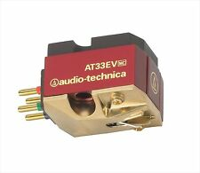Audio-Technica AT33EV MC type stereo cartridge Expedited Shipping