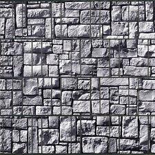 Steinlabyrint – bedruckter Sicht Wind Lärm Schutz Streifen Rolle Doppelstab Zaun