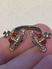 Vivienne Westwood Nano Heart Crown Ring