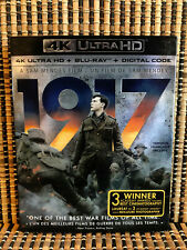 1917 4K (1-Disc Blu-ray, 2020)+Slipcover.Benedict Cumberbatch.WWI.World War.
