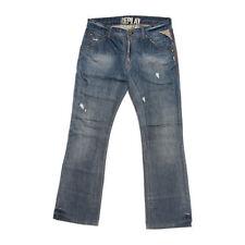 W32 Herren-Bootcut-Jeans in normaler Größe (en) Hosengröße niedriger Bundhöhe