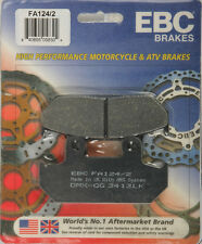 EBC BRAKE PADS Fits: Honda NX650 Dominator,VT600C Shadow VLX,VT600CD Shadow VLX,
