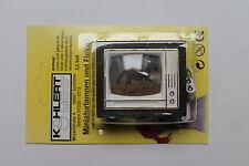 Kahlert 40655 Fernseher mit schwarzem Rahmen für Puppenstube 1:12; NEU---OVP