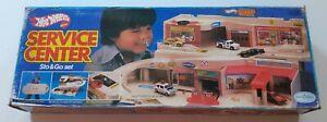 Hot Wheels Service Center Foldaway Garage Sto N Go Mattel 1979 boxed