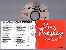 ELVIS PRESLEY -  Rockin´ Around Volume 3 CD Very RARE Import
