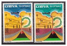 LIBIA REGNO  1968 -  OLEODOTTO DI ZWEITINAH - SERIE  **