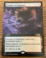 MTG Core Set 2021 M21 Temple of Epiphany FOIL NM//M