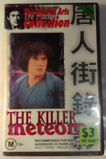 The Killer Meteors VHS 1976 Wei Lo Jackie Chan The Martial Arts Collection