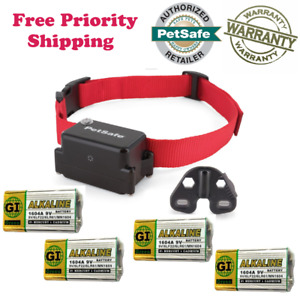 In-Ground Fence-PetSafe Stubborn Dog Collar PRF-275-19+4 Free Bat- Priority Ship