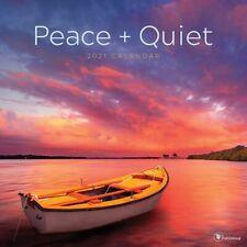 Peace Quiet Wall Calendar 2021