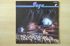 Saga Band Autogramme signed LP-Cover Vinyl