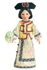 "Doll Clothes Carpatina Original Dress Qing Dynasty Gold Fits Slim 18"" Dolls"