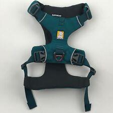 Ruffwear Tumalo Teal Padded Front Range Front Clip Dog Harness sz M NEW