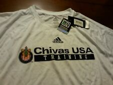 Chivas USA men's soccer team training Jersey worn by players BNWT