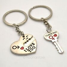 high quality I LOVE YOU Heart Key chain couple keychain perfect gift for love