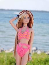 Barbie's 80's Pink CROCHET Bikini