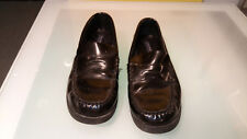 """Sperry Top Sider Boys Size 6 """"Colton"""" Good condition Black Shiny"""