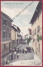 COMO TURATE 10 AUTOMOBILE d'EPOCA Cartolina viaggiata 1936
