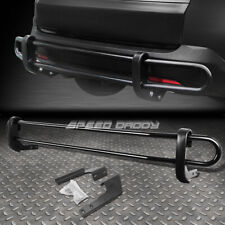 FOR 01-08 PILOT/MDX/-14 RIDGELINE BLACK DOUBLE-BAR REAR BUMPER PROTECTOR GUARD