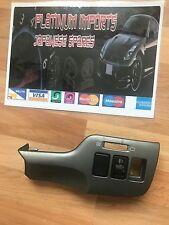 Subaru legacy b4 bh5 jdm switch panel surround trim jdm spec import silver