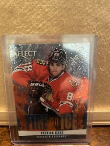 2013-14 Panini Select Fire On Ice Patrick Kane #FS-10