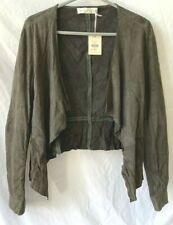 """Whistles"" Chrissy Suede Jacket Size 14 - BNWT - RRP £195.00 (LEY)"