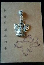 Guardian Angel pendant tibetan silver