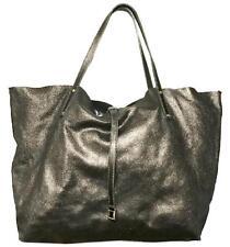 Tiffany & Co 2 Way Bronze Brown Suede Large Soft Tote Shoulder Bag