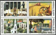 Marshall-Islands 338-341 block of four unmounted mint / never hinged 1991 Histor