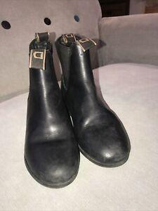 Dublin Foundation Jodhpur Boots Black Childs UK4 Used