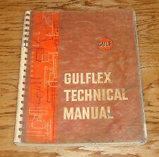 Original 1959 Gulf Oil Gulflex Technical Shop Manual 59