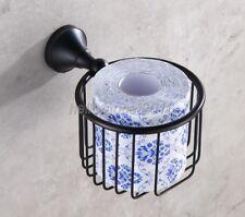 Bathroom Oil Rubbed Bronze Toilet Paper Holder Paper Roll Basket  lba855