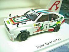TOYOTA Starlet Tourenwagen Gr.5 1977 #1 Tachi Dunlop Spark Resin Reve Edit 1:43