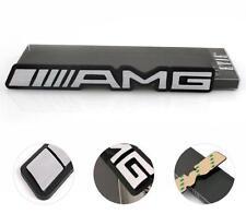 Aluminum Metal 3D AMG Car Badge Sticker Decal Logo for Mercedes Benz C63 C E AMG